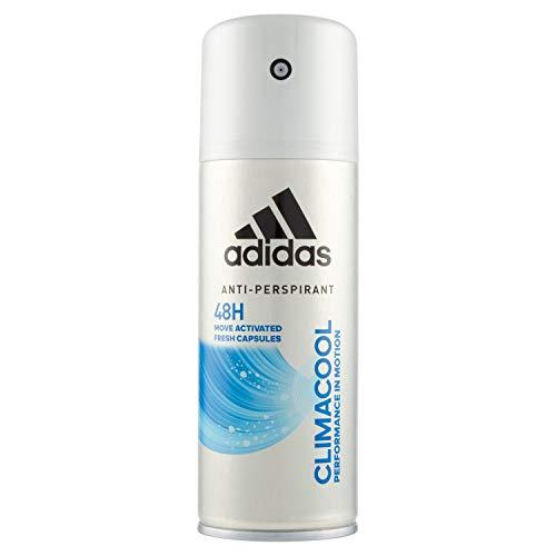 Adidas, Climacool Deodorante Spray Uomo, 48 Ore di Freschezza, 150 ml
