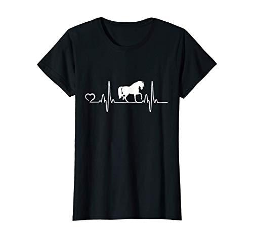 Cadeau pour L'équitation de Cheval pour Femmes et de Filles T-Shirt