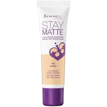 6 Pack) RIMMEL LONDON Stay Matte Liquid Mousse Foundation - Ivory: Amazon.es: Belleza