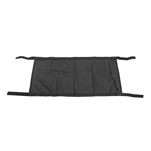 Car Roof Hammock Top Rest Bed for Jeep Wrangler Yj, Tj, Jk, Jku, Jl, Jlu 1987-2019 2-Door and 4-Door Durable Firm Expand Space L