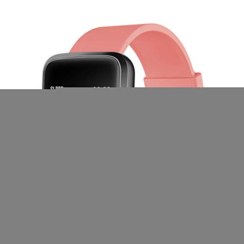 Reloj inteligente con monitor de frecuencia cardíaca, apertura de puerta, pantalla táctil de seguimiento de actividad, podómetro impermeable IP68, pulsera inteligente con monitor de sueño