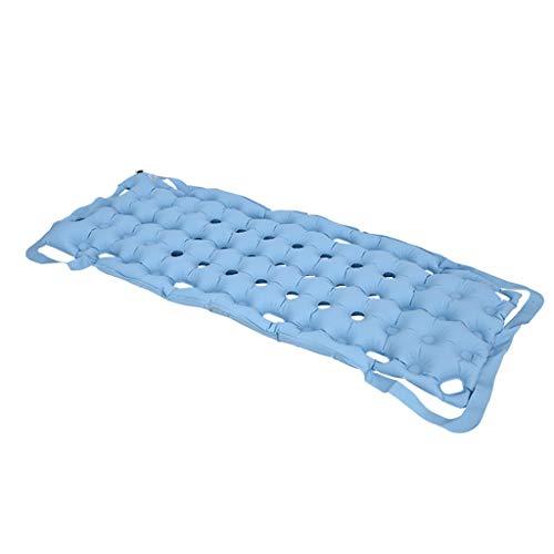 Colchón anti-decúbito con bomba, cojín de aire colchón inflable para asiento anti-escaras evita el decúbito (gofre) sin necesidad de usar electricidad en el hogar individual para ancianos discapacit