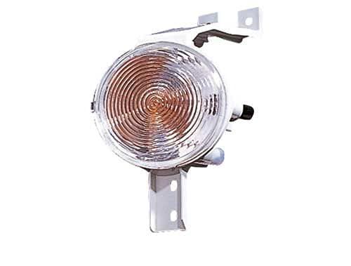 Depo 3301952 Gauche, feu parachoc, sans porte-lampe, blanc