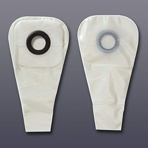 Karaya 5 Colostomy Pouch, One-Piece System 16 Inch Length 2-1/2 Inch Stoma Drainable, Hollister, 3276 - Box of 30
