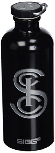 Sigg Heritage - Botella de Deporte, tamaño 0, 6 l, Color Negro
