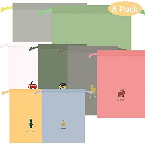 Packbeutel Set, Packbeutel Reise, wasserdichte Beutel, Packsack Tunnelzug, Beutel Rucksack, Packbeutel Rucksack, Packbeutel Für Koffer Kosmetik, Organizer Reisetasche