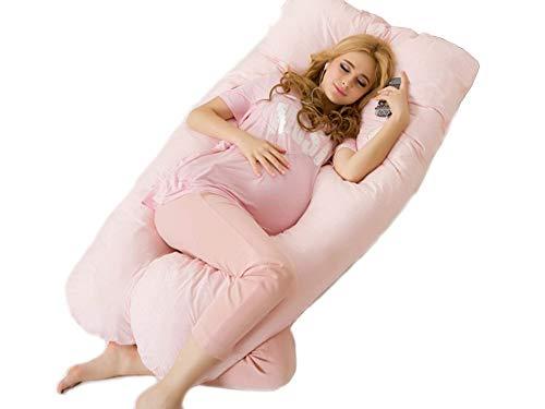 Coussin de grossesse idéal pour dormir - Oreiller de maternité et coussin d'allaitement en U. Soutient parfaitement le ventre et évite les douleurs de dos