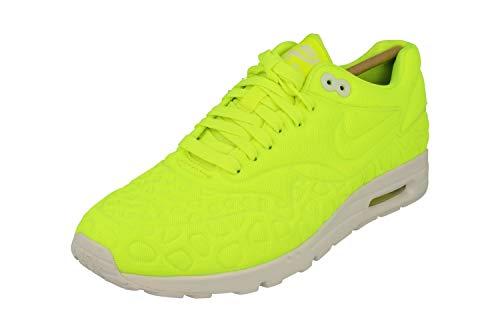 Nike w Air MAX 1 Ultra Plush, Zapatillas de Running Mujer, Amarillo (Amarillo (Volt/Volt-White), 37.5 EU