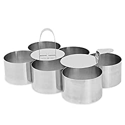 ✔️ PROFESSIONAL - The Maison & White Cooking & Dessert Rings are a great addition to any cooks toolkit. Impress your friends, family or peers with beautifully presented risotto, rosti, cheesecakes, mouses, rice or other dishes. ✔️ 8 PIECE SET - This ...