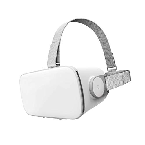Shxchen VR Gafas de Realidad Virtual Auriculares 3D VR Glasses para Movil Juegos y Videos para iPhone 12 11 Pro X Xs Max XR Mini 8 7 6 para Android Samsung S 20 10 9 8 Plus Note
