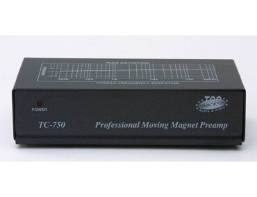 TCC TC-750 preamplificatore Phono, nero
