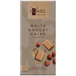 iChoc weiß nougat Crisp Vegan 80g