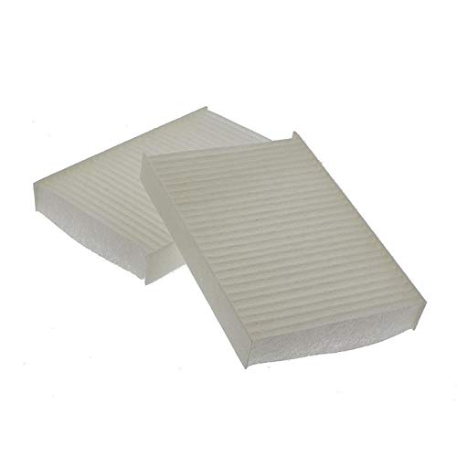 2x Pollenfilter Hygiene-Luftfilter Flusensieb Trockner BSH Bosch Siemens 481723 Privileg 02654457