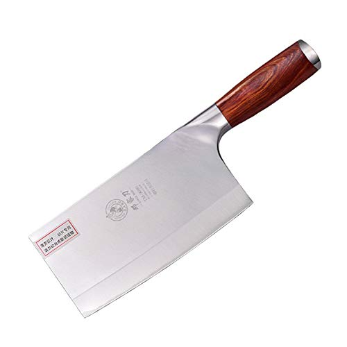 Ancient vine green Dauerhaft Messer 9Cr18Mov Stahl Mahagoni Griff chinesischen Qualitäts-Chef-Messer Handgemachte Gemüse und Fleisch Edelstahl Küchenmesser Gut gemacht (Color : Chef Knives)