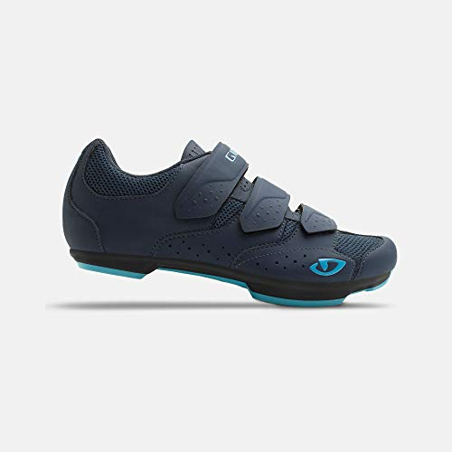 Giro Rev W Womens Road Cycling Shoe − 39, Midnight/Iceberg (2020)