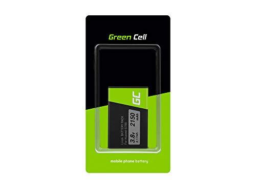 Green Cell HB505076RBC Handy Akku für Huawei Y3 YIII | Li-Polymer Zellen | 2150 mAh 3.8V | Ersatz Smartphone Batterie | Markenakku | Volle Kompatibilität | Reale Kapazität | ohne Memory-Effekt