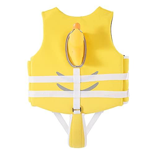 LIMESI Niños Chaleco de Natacion - Childs Traje de Baño Traje Flotante Niños Chaqueta Chicos Chicas Ayudas de Natación Aprender a Nadar 10-30 kg-L