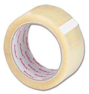 72 x Clair Buff Emballage de colis Tape – 48 mm x 66 m