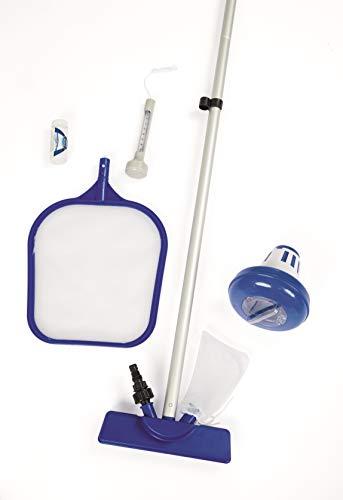 Bestway Flowclear Zubehörset zur Poolpflege, inklusive Venturisauger und umfangreichem Zubehör