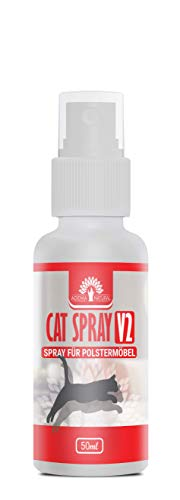 ADEMA NATURAL® CAT Spray V2 – Espray de defensa para gatos – Espray antigatos – 50 ml