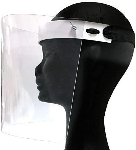Totò Piccinni Visiera in Plexiglass Protettiva Viso Made in Italy in Salento (1 Pz)