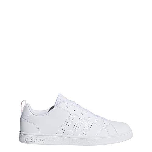 adidas Vs Advantage Cl, Scarpe da Tennis Donna, Bianco (Ftwwht/Ftwwht/Hazcor 000), 43 1/3 EU