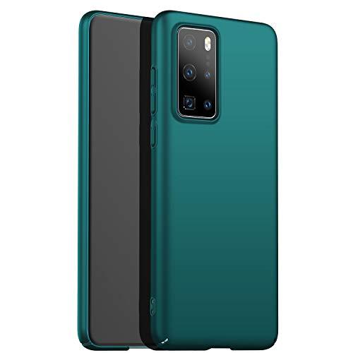 N\C Amosry Funda Huawei P40,Absorción de Golpes Anti-Rasguños PC Esmerilado Funda Protectora para,Mate para Huawei P40 (Verde)