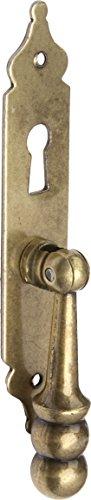 Imex El Zorro 78006 El Zorro 78006-Tirador péndulo Placa con bocallave, 23 x 120 mm