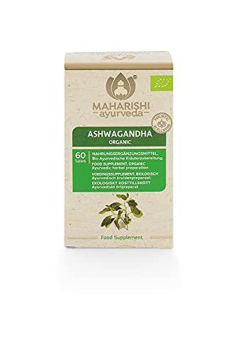 Maharishi Ayurveda Ashwagandha, 60 Tabletten / 30 g, Withania Somnifera, kontrolliert biologisch