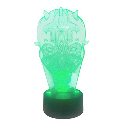 LED Styling Light Led Decorative Small Night Lights Neon Base Model Devil
