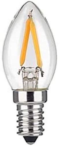 LED Kylskåp Bulb 2W glödlampa E12 Mini Candle Lamp 110V 220V Tungsten Lamp (Color : Cool white, Size : 110v)