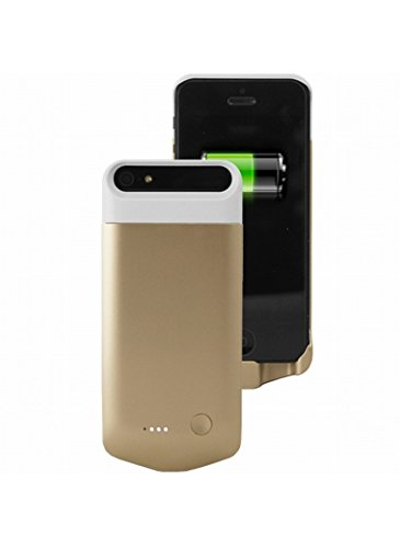 Coque batterie iPhone 5/5S Ultra Fine Gold iFans