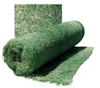 A.M. Leonard Curlex I Erosion Control Blanket Fabric, Single Net, 4 feet x 112.5 feet
