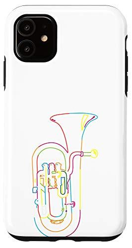iPhone 11 Retro Marching Band Tuba Case