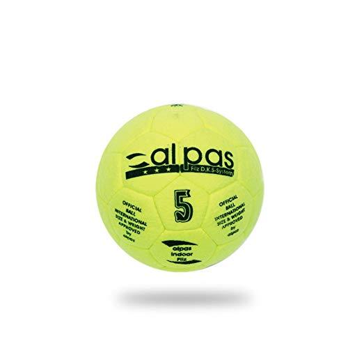 Alpas Filz 2.0 Hallenball/Hallenfußball/Indoorfußball in Gr. 4 oder 5, Größe: Größe 5