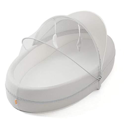 Colchones para niños Bionic cama portátil en la cama, dormitorio de los niños, cama móvil plegable y antipresión colchón biónico regalo (color: blanco, tamaño: 56 x 96 x 17 cm)