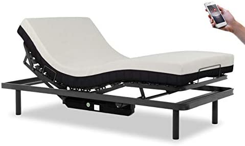 Gerialife® Cama articulada con Mando inalámbrico y colchón ...