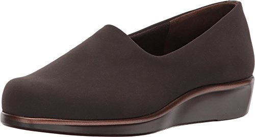 SAS Women's Bliss Slip On Casual Wedge Shoes, Brown, 5.5 M