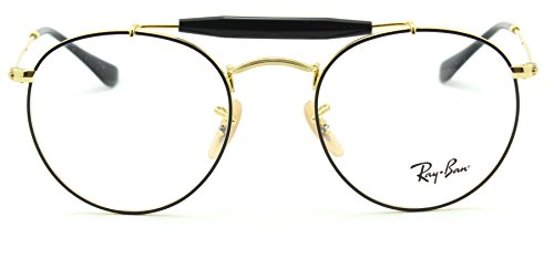 Ray-Ban RX3747V Round Metal Optics Prescription EyeGlasses 2946-50