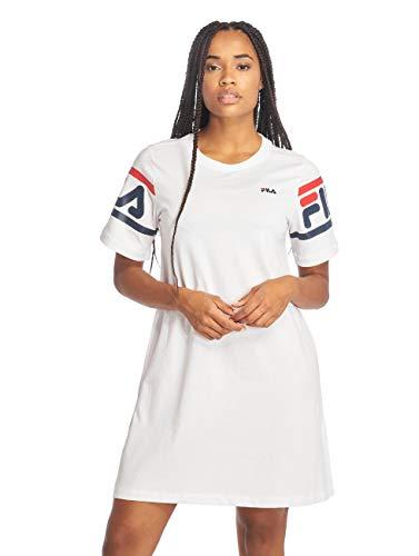 Fila 687085 Vestito Donna Bianco S