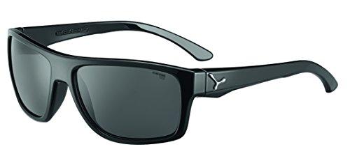 bollé Empire Gafas de Sol, Shiny Black Gunmetal, Large Adultos Unisex
