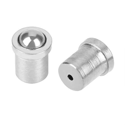 Bola de resorte émbolo 304 de acero inoxidable suave de precisión de posicionamiento tornillo (φ 2 × 3) (diámetro × L)