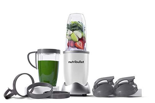 NutriBullet NB9-1301W Pro 13 Pcs White, 900W (Renewed)