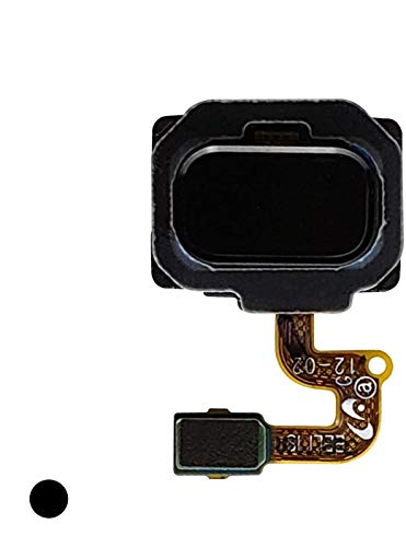 CELL4LESS Fingerprint Sensor with Flex Cable Connector Galaxy Note 8 N950 Compatible (Black)
