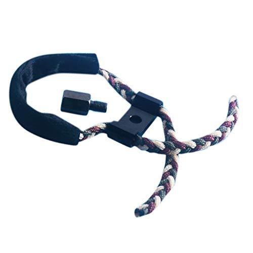 SM SunniMix Bogenschlinge Paracord Bow Sling Handgelenk Schlinge Handgelenkseil für Compoundbogen Zubehör