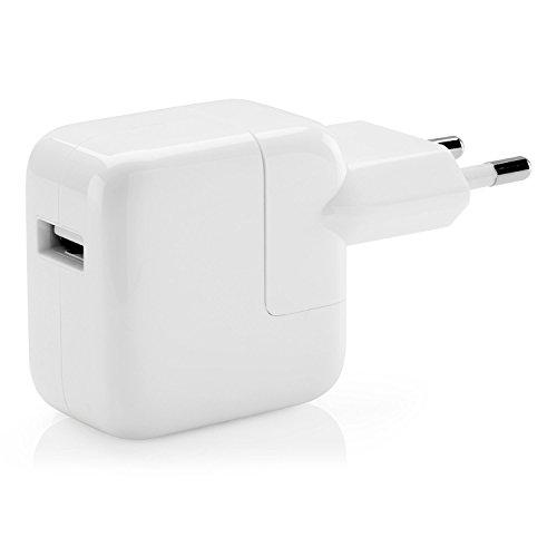 myTech® Ladegerät 12W Stromadapter VW/Netzteil/Ladegerät passend für iPhone/iPad/iPod + Lightning Kabel [Apple MFi zertfiziert] 8 Pin auf USB Kabel