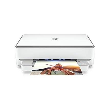 HP Envy 6020 - impresora multifunción (tinta instantánea, impresora, escáner, fotocopiadora, WLAN, Airprint) que incluye 6 meses de tinta instantánea