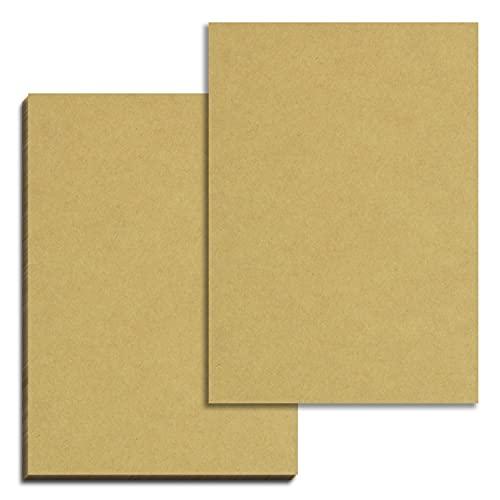 50 fogli, Carta Kraft Marrone Cartone A4, 200 g/m²