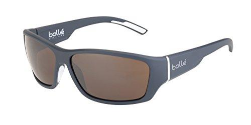 Bolle Ibex Sunglasses, Matt Grey White