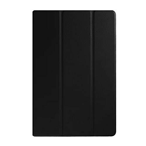 Funda de piel para Sony Xperia Z4 Tablet SGP771 SGP712 de 10,1', color negro